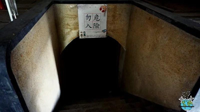 sotterranei del Navy Fongshan radio station