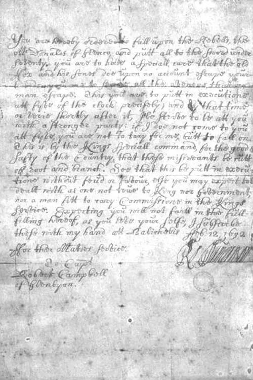 missiva del 12 febbraio 1692