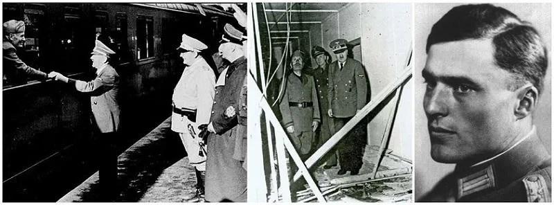 Foto storiche del giorno dell'attentato a Hitler