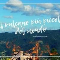 Il vulcano a Portico di Romagna