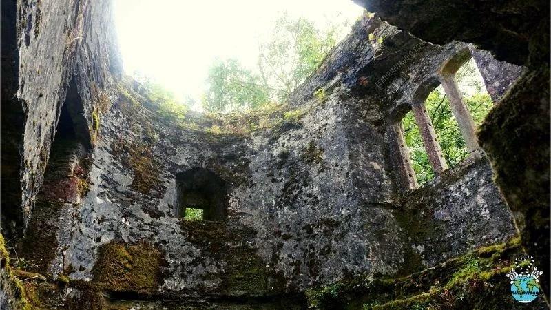Fantasmi del castello Berry Pomeroy
