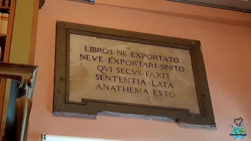 visita guidata alla Biblioteca di via Gambalunga