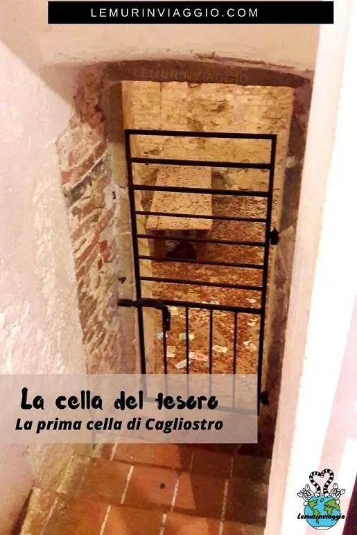 La prima cella di reclusione di Cagliostro
