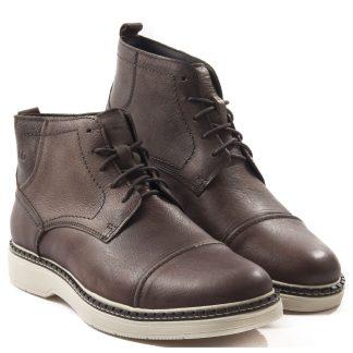 bota democrtata masculina marrom