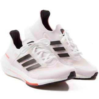 tenis ultraboost adidas masculino branco com laranja