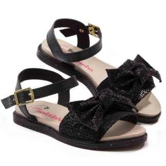 sandalia papete infantil molekinha preta