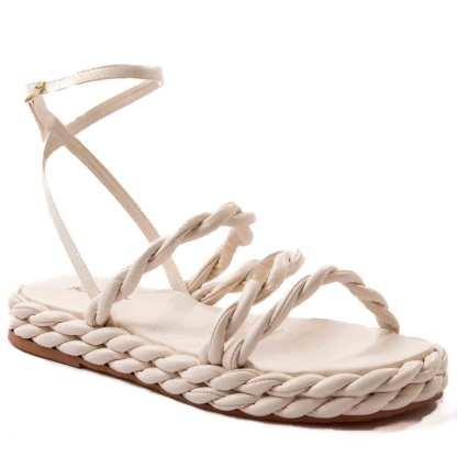 sandalia paprte feminina gelo