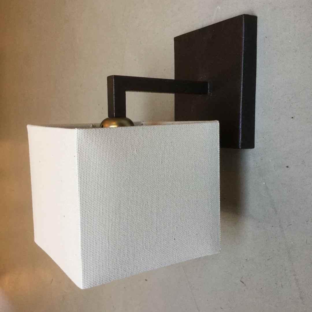 applique ferro ruggine quadrata