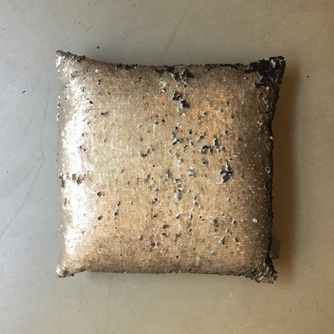 cuscino paiette