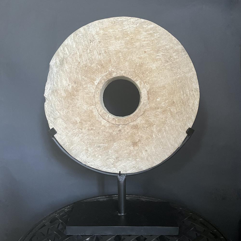 grande moneta pietra bianca Papua 3