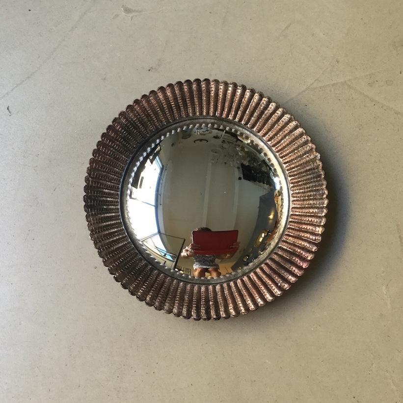specchio convesso scanalato