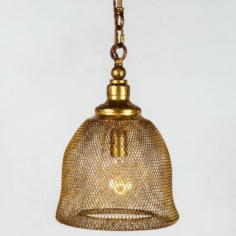 lampadario metallo oro Kimi B