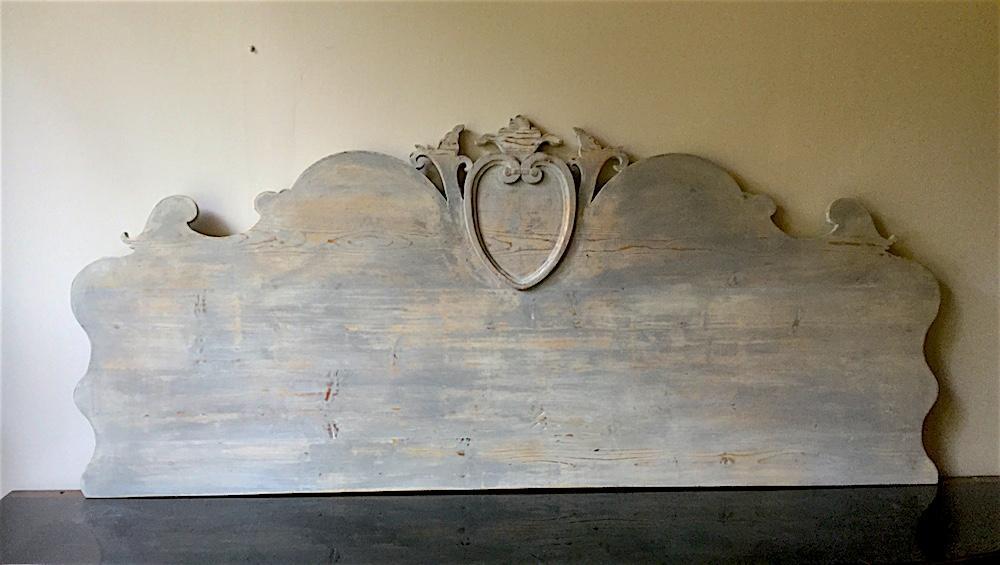 Testata Letto Matrimoniale Antica.Testata Letto Antica In Legno Intagliato Le Muse Di Francesca