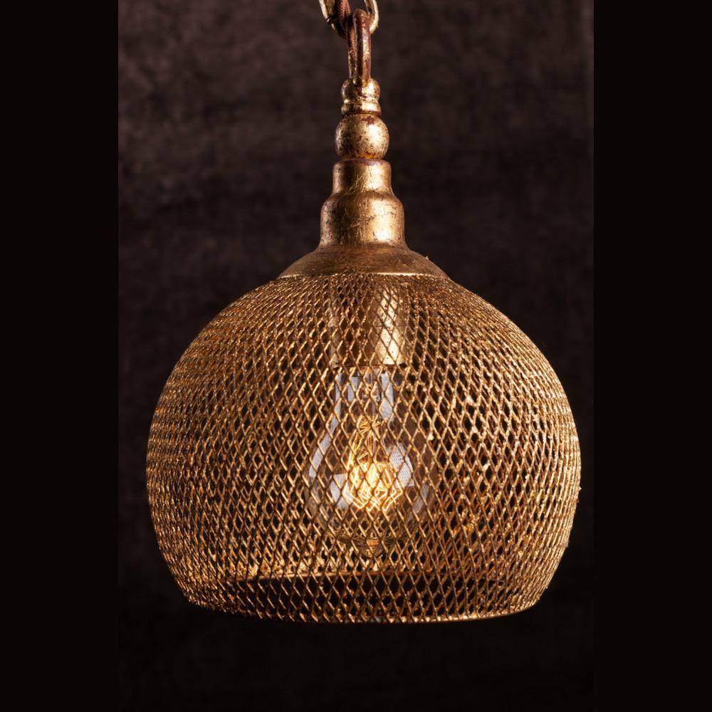 lampadario oro kimi E 2