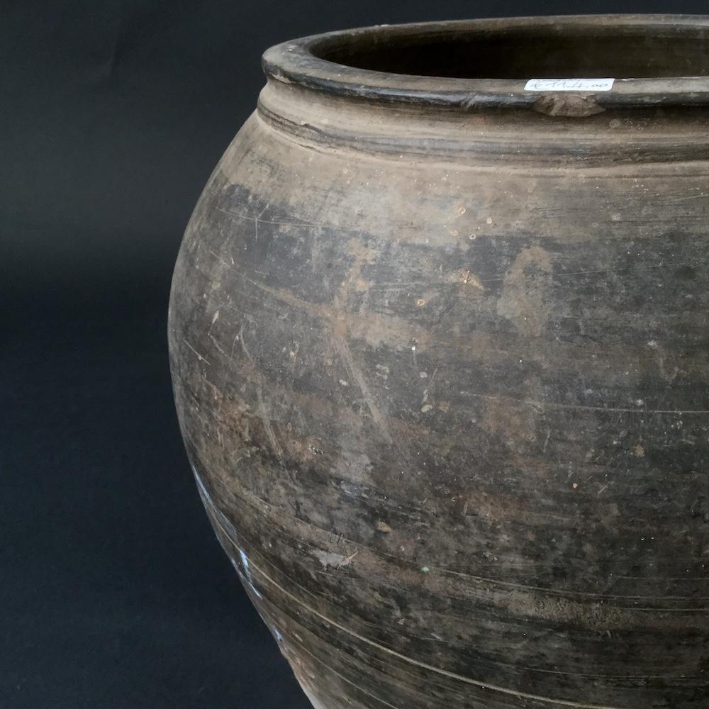vaso terracotta grigio