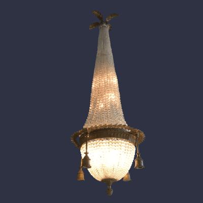 lampadario Impero antico
