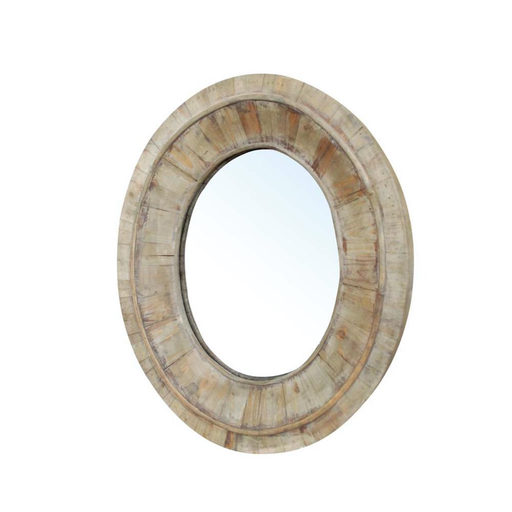 specchio ovale Milon