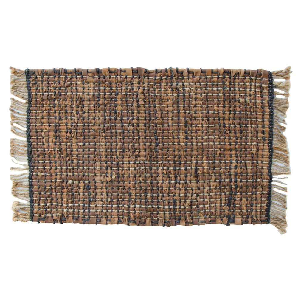 tappeto Estell castagna