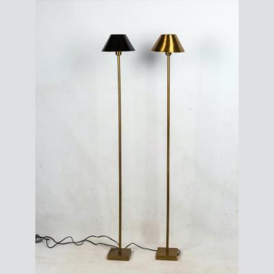 piantane metallo dorato