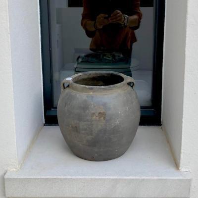 vaso manici grigio