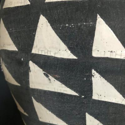 vaso grigio particolare