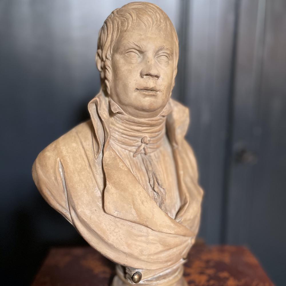mezzo busto terracotta