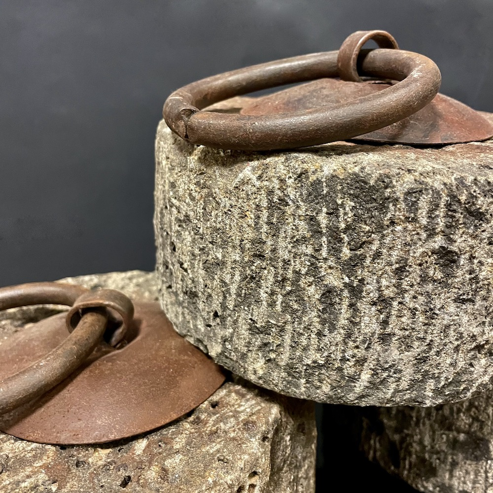 pesi fermaporta pietra ferro