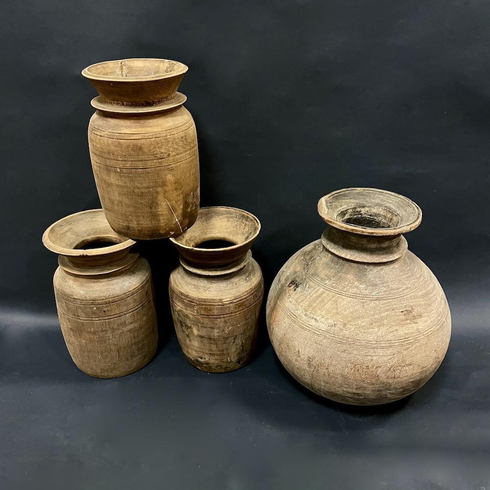 vasi vintage legno M