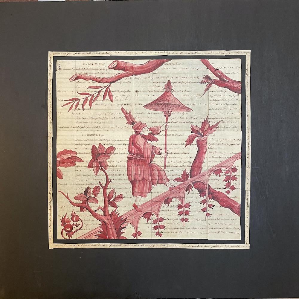 Chinoiserie china rossa