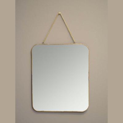 specchio catenella oro