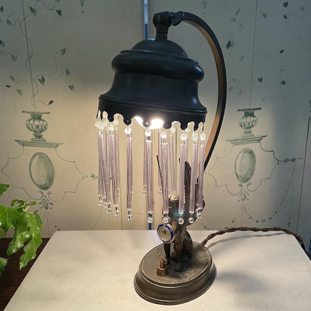 lampada antica ottone 1
