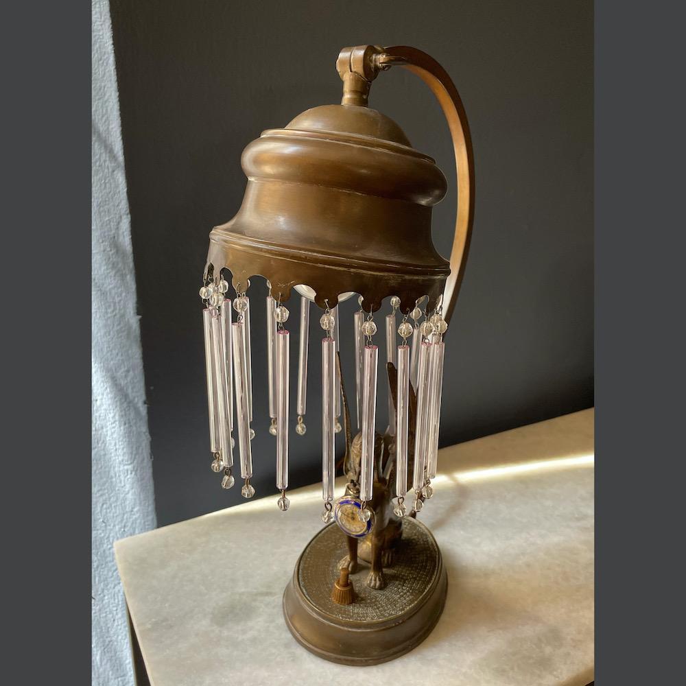 lampada da tavolo per orologio