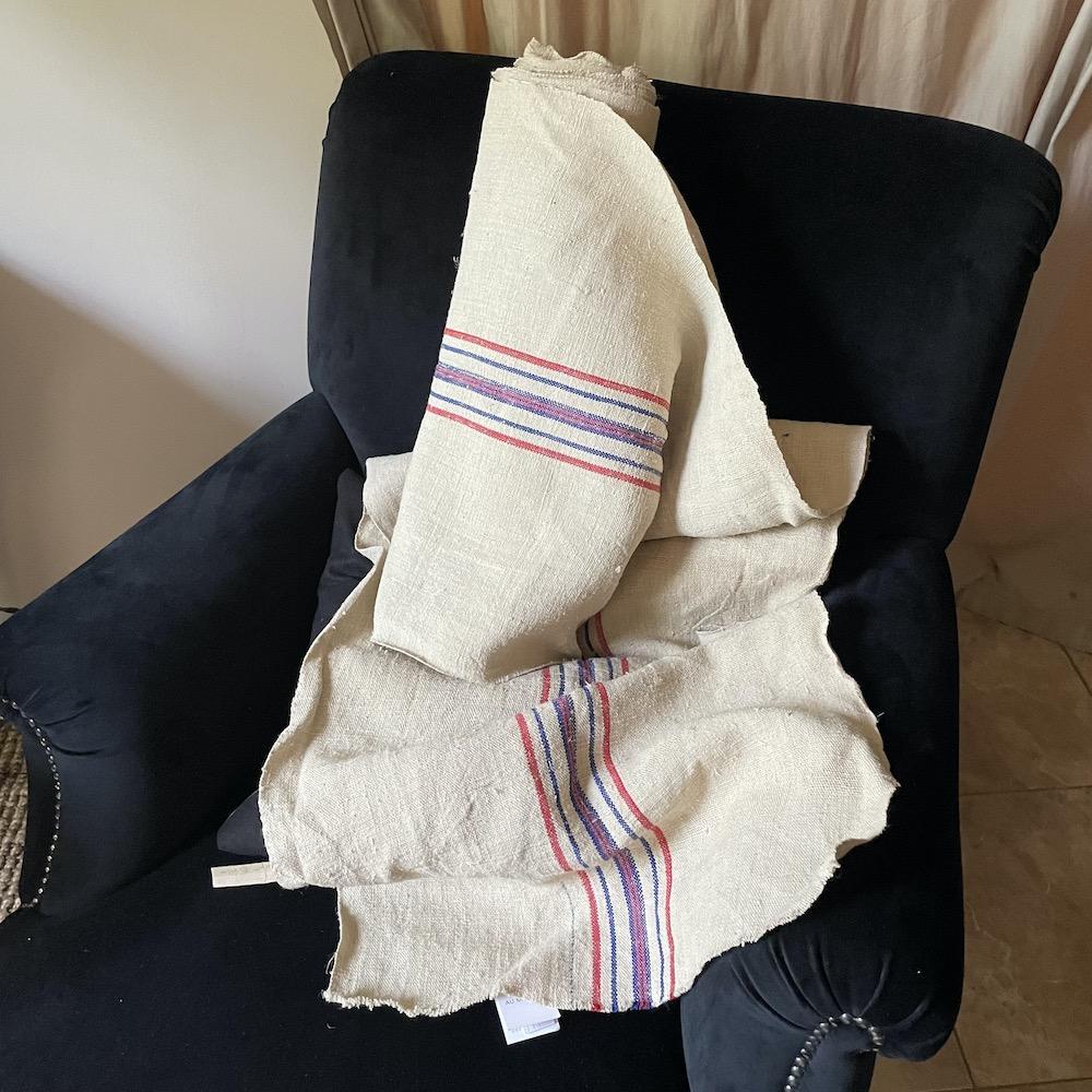 tessuto vintage cuscini