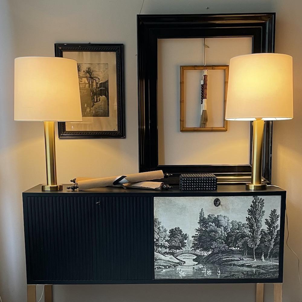 lampade ottone Kosta Elarmatur