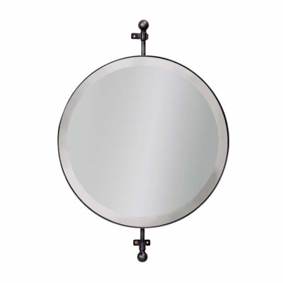 specchio tondo rotante bagno