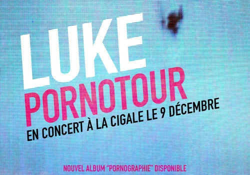 Luke La Cigale Paris