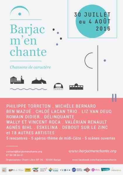 Barjac M'en chante 2016