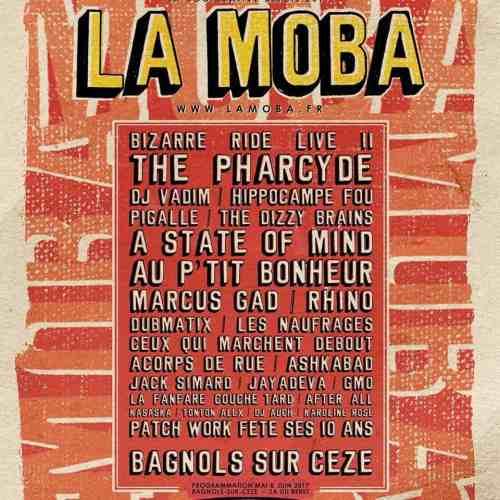 Concerts La Moba Bagnols Sur Cèze mai et juin 2017