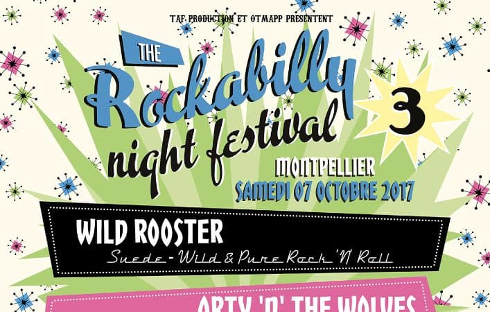 Festival rockabilly montpellier octobre 2017