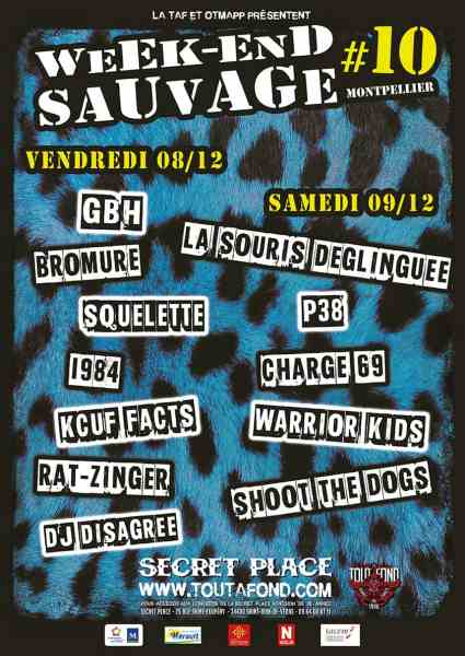 Week end sauvage GBH Montpellier 2017