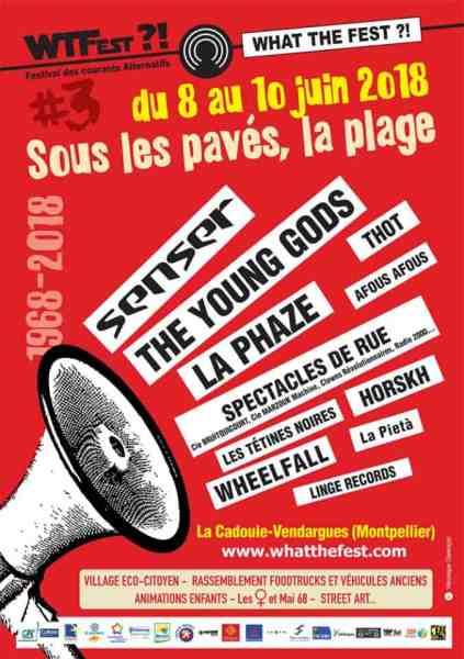 What the fest Montpellier Vendargues 2018 concours places à gagner