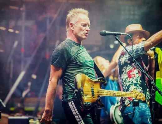 Sting - Festival de Nîmes - Arènes de Nîmes - Juillet 2018 - Fidiwik
