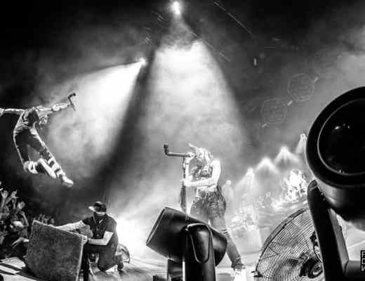 Shaka Ponk- Festival de Nîmes - Arènes de Nîmes - Juillet 2018 - Fidiwik