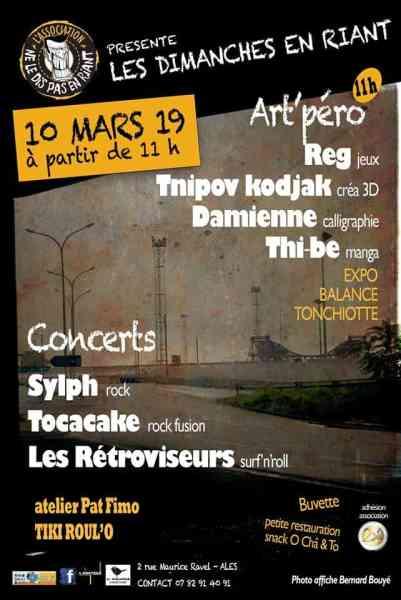 Association Ne Le Dis Pas En Riant alès concert musique