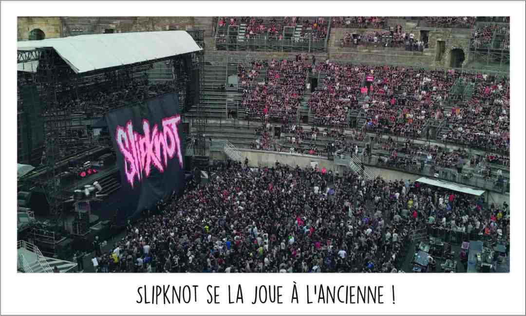 slipknot france concert métal 2019 arènes