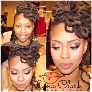 Black Bride (model) at Natural Hair Bride Fashion