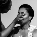 Black Bridal Makeup
