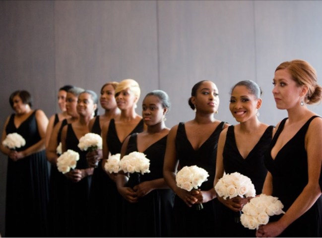 Chicago Multiracial Bridal Party