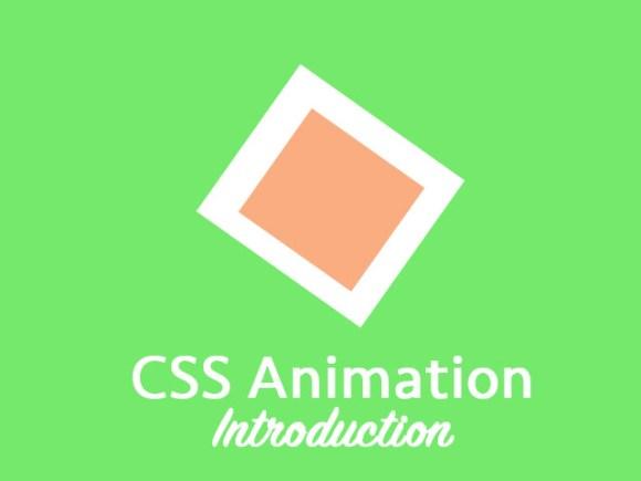 CSS Animation Intro