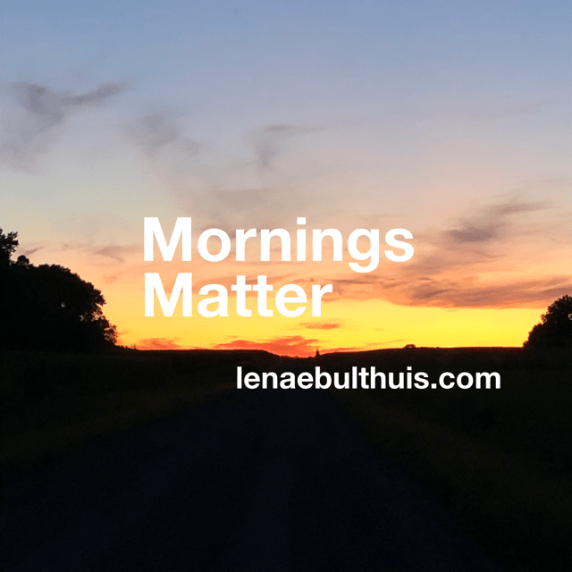 Mornings Matter